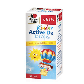 Bổ sung Vitamin D dạng giọt cho bé (30ml) Doppelherz Kinder Active D3