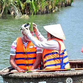Tour rừng dừa Bảy Mẫu đón cầu cửa Đại
