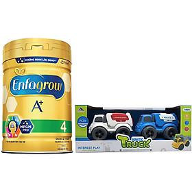 Sữa Bột Enfagrow A+ 4 870g - Tặng Bộ 2 Xe Chuyên Dụng Không Pin