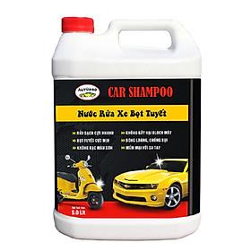 Nước rửa xe cho ô tô xe máy Car Shampoo 5 lít