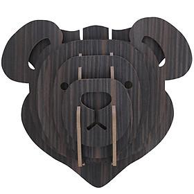 Đầu Gấu decor treo tường