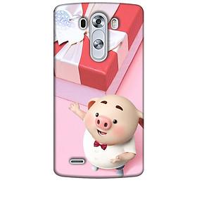 Ốp lưng dành cho điện thoại LG G3 Heo Con Đòi Quà
