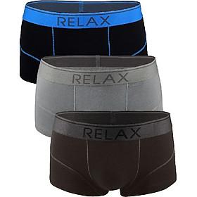 Combo 3 quần lót Relax nam RLTK049 (Màu Ngẫu Nhiên)