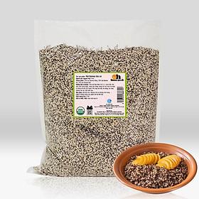 Hạt Quinoa Mix 3 Màu Smile Nuts Túi 5kg (Còn được gọi là Hạt Diêm Mạch) - Nhập khẩu từ Peru (Gồm Quinoa trắng, Quinoa đen và Quinoa đỏ), túi 5kg giá tốt hơn, tiết kiệm hơn