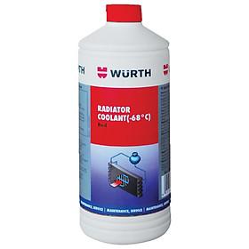 Nước làm mát chống đông pha sẵn màu xanh chuyên dụng Wurth 1L WU-GR000N1L.