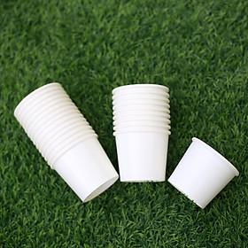 50 Ly giấy uống nước 1 lần 6oz 165ml, dùng để ở các bình nước công cộng hoặc dùng đựng sản phẩm dùng thử