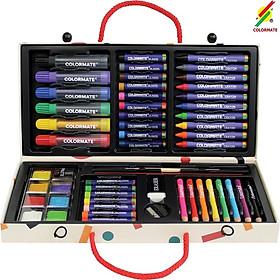 Màu vẽ cho bé, Bộ màu vẽ xinh xắn, Quà tặng bé yêu, Màu vẽ hộp giấy MS-55P