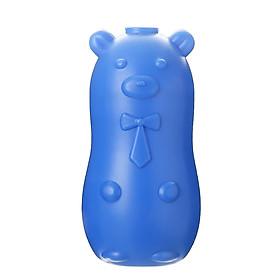 Lọ thả bồn cầu Gấu xanh tẩy rửa khử mùi toilet chai làm sạch phòng tắm diệt khuẩn