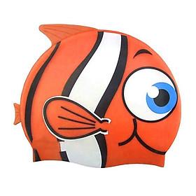 Mũ bơi cao cấp hình con cá cho bé từ 2 tuổi trở lên