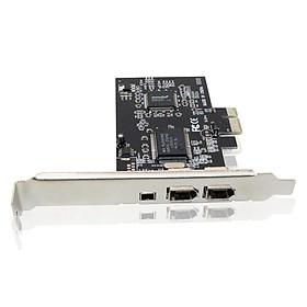 Card PCI to 1394 PCI-Express with 6Pins FIREWIRE 400 IEEE 1394 - Hàng Nhập Khẩu