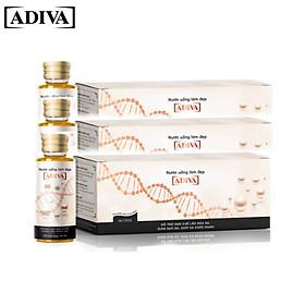 Combo 3 hộp Collagen Adiva 14 lọ/hộp