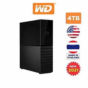 Ổ Cứng Di Động WD My Book 4TB USB 3.0 - WDBBGB0040HBK-SESN - Hàng Chính Hãng