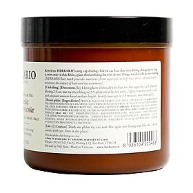 Kem ủ tóc từ 5 loại dầu siêu chất dành cho tóc Herbario 500ml-2