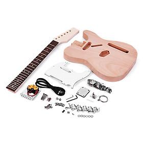 Bộ Đàn Guitar Điện Chưa Lắp Muslady Phong Cách Tele DIY