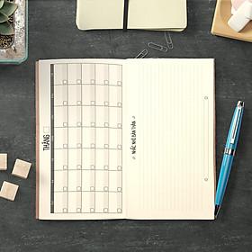 """Sổ tay planner """"Đúng Hẹn"""" bìa cứng 21x11 to-do list, thời gian biểu, check list, nhắc việc, lịch hẹn"""