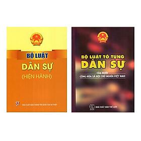 Combo Bộ Luật Tố Tụng Dân Sự Của Nước Cộng Hòa Xã Hội Chủ Nghĩa Việt Nam + Bộ Luật Dân Sự (Hiện Hành)