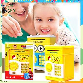Két sắt mini giúp bé rèn luyện tính tiết kiệm (mẫu mới nhất)