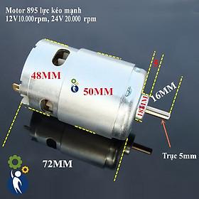 Motor 895 12-24V Tốc Độ 10.000-20.000rpm