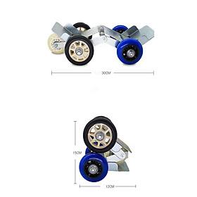 Con lăn di chuyển bánh xe máy, xe máy điện, xe đạp điện (Giao màu ngẫu nhiên) trợ thủ đắc lực giúp việc di chuyển các loại bánh xe khi gặp sự cố trở nên dễ dàng hơn