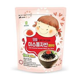 Rong Biển Trộn Cơm Em Bé Cười Humanwell Vị Trứng Cá Pollack – Smile seasoned Seaweed Pollock Flavor (50g)
