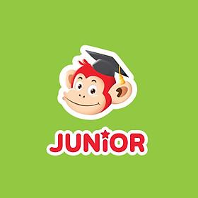 Ứng Dụng Học Ngôn Ngữ Monkey Junior - Tiếng Anh Cho Trẻ Mới Bắt Đầu - Gói 48 Tháng