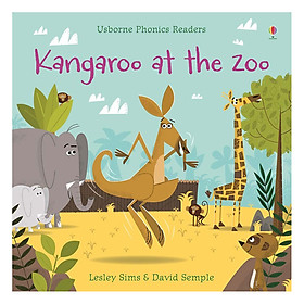 Usborne Kangaroo at the Zoo