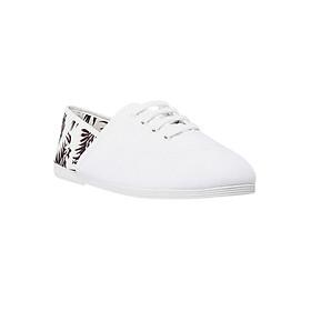 Giày Lười Flossy Unisex Mancha White - Trắng