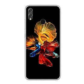 Ốp điện thoại Huawei Honor 8X - Silicon dẻo - 0128 FISH07 - Hàng Chính Hãng