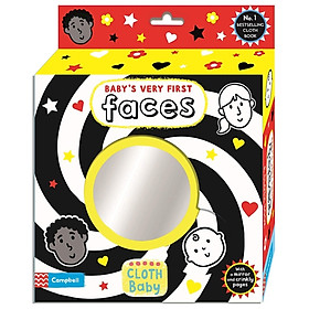 Baby's Very First Cloth Book: Faces
