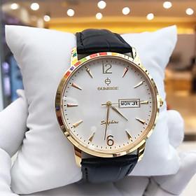 Đồng hồ nam Sunrise DM778SWAB , Full Box, Kính Sapphire, chống xước, chống nước , Dây da cao cấp