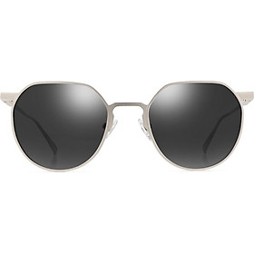 Parson (PARZIN) Song Zuer star with the same paragraph polarized sunglasses female light aluminum magnesium colorful street fear sunglasses female 8182 light gold frame black gray tablets