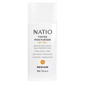 Natio Tinted Moisturiser SPF 50+ Medium Online Only