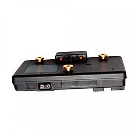 Bộ Chuyển Đổi Tấm Gắn Cho Pin V-Mount Sang Anton Bauer Gold Cho Pin Sony Sang Máy Ảnh Panasonic A-GP-S