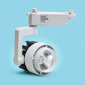 Combo 3 đèn rọi ray + 1 ray 1 mét vỏ trắng WHITE loại chuẩn