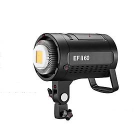 Đèn LED studio EF II-60 + 2 Pin F970 & Sạc đôi LCD