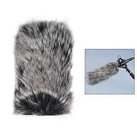 Small Outdoor Microphone Microphone Fur Windshield Windshield Glass Cover Sheng Gu Sg-107 / Sg109 Or Or 6 * 5Cm/S