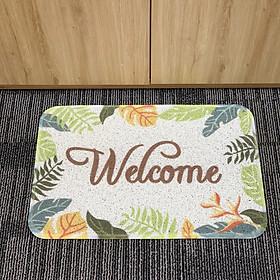 Thảm Sợi Welcome