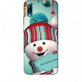 Hình đại diện sản phẩm Ốp lưng dành cho điện thoại HUAWEI NOVA 3E Cậu Bé Người Tuyết