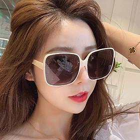 Kính râm thời trang phiên bản Hàn Quốc, kính mát nữ - KM13