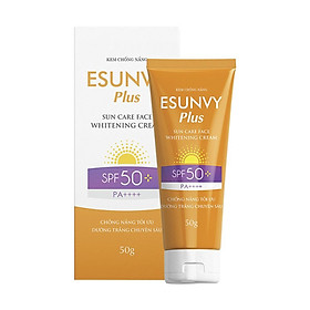 Kem Chống Nắng Esunvy Plus - Sun Care Face Whitening Cream (Tuýp 50g)