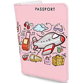 Bao Da Hộ Chiếu Và Phụ Kiện Cute - Đa Năng Tiện Lợi - Ví Đựng Passport Du Lịch Stormbreaker - Passport Cover - PPT141