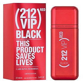 Nước Hoa Nam Carolina Herrera 212 VIP Black Red for Man 100ml full Limited Edition