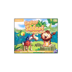 Super Safari Level 2 Pupil's Book with DVD-ROM - Reprint