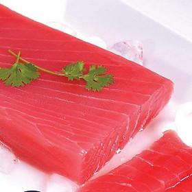(chỉ giao HN)- Cá ngừ cắt khúc Saku
