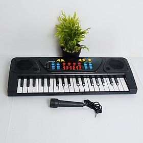 Đàn piano điện tử 37 phím kèm mic cho bé + Tặng kèm bơm bóng bằng tay mầu ngẫu nhiên