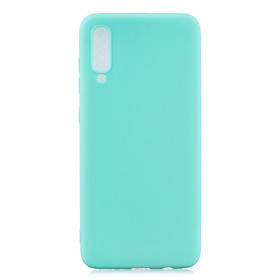 For Samsung A70 Lovely Candy Color Matte TPU Anti-scratch Non-slip Protective Cover Back Case Style:Samsung A70