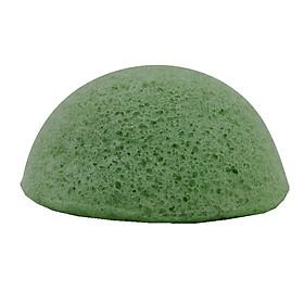 Bông rửa mặt Konjac Trà xanh - Ekoko Grean tea Konjac spone