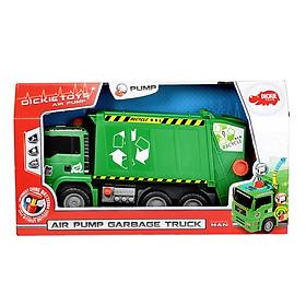 Đồ Chơi Xe Rác Dickie Toys Air Pump Garbage Truck (31 cm)