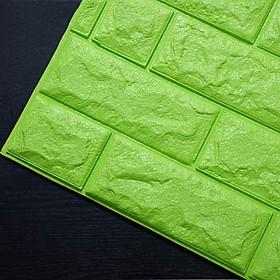 Bộ 10 xốp dán tường giả gạch 3D TM03