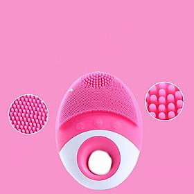 Máy làm sạch da mặt - Máy rửa mặt mini, máy rửa mặt, máy rửa mặt massage, giao màu ngẫu nhiên